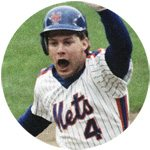 Lenny Dykstra NY Mets