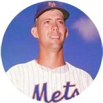 Jim Hickman NY Mets