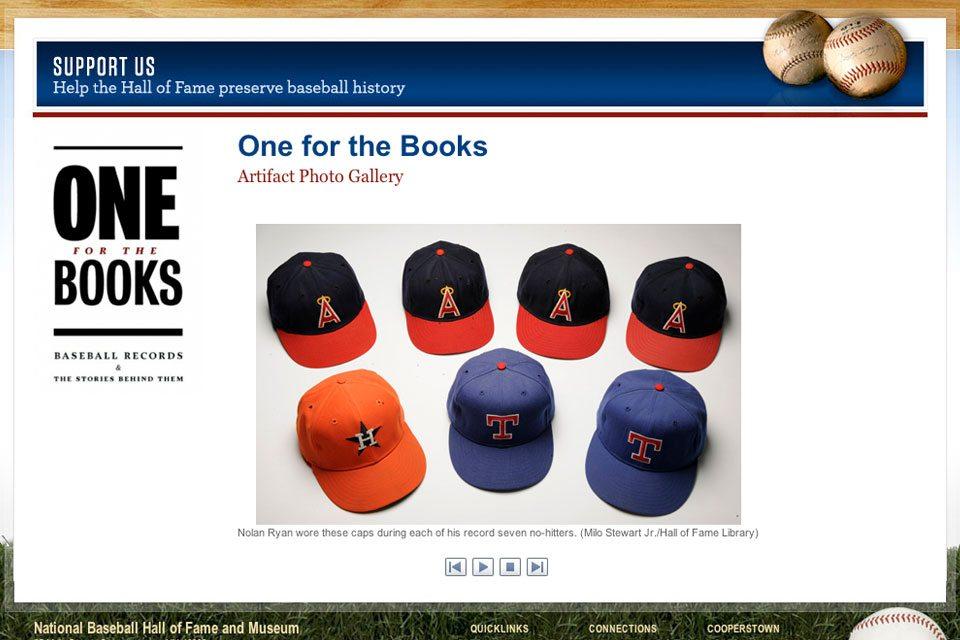 One for the Books: New Baseball HOF Exhibit