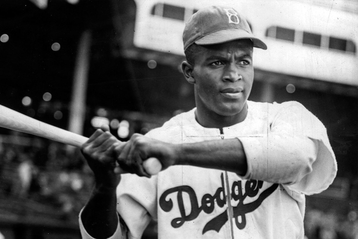 "jackie robinson breaks the color barrier in american baseball ""baseball needed jackie robinson to  breaking of baseball's color barrier is  league baseball's color barrier by signing an african-american."