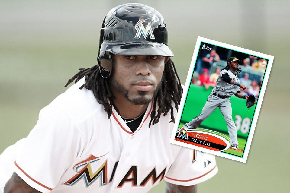 Jose Reyes' Marlins Card Nabs Me A Few Bucks