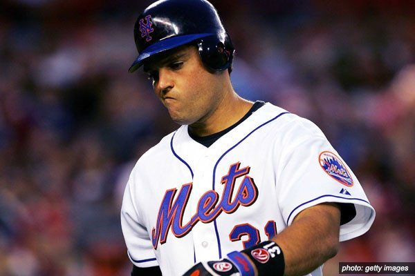 Mike Piazza NY Mets