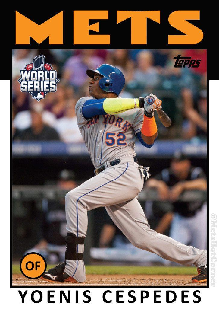 2015 World Series Yoenis Cespedes