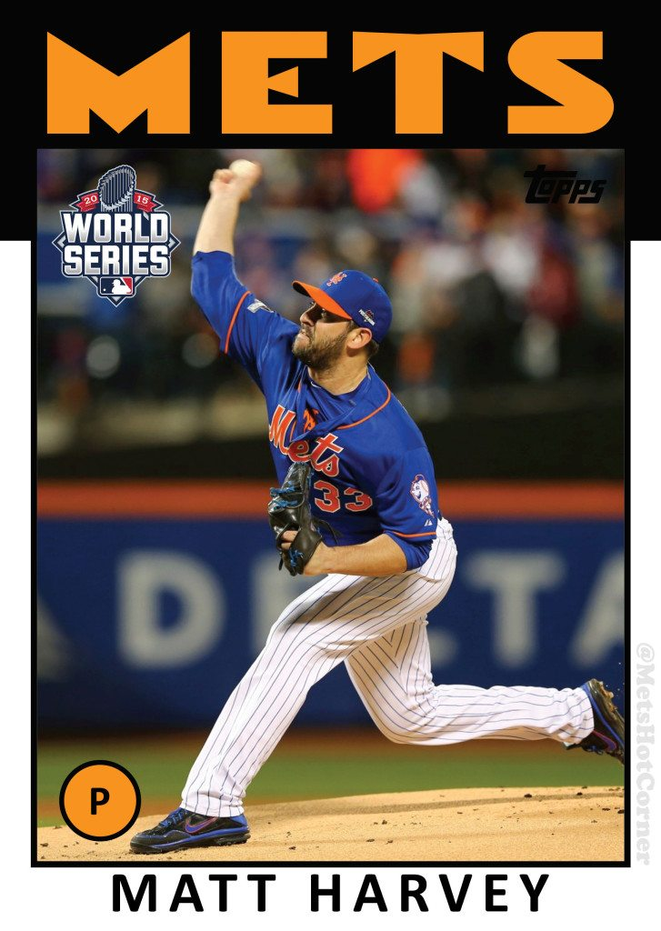 2015 World Series Matt Harvey