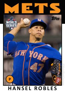 2015 World Series Hansel Robles