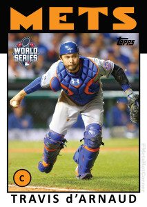 2015 World Series Travis d'Arnaud