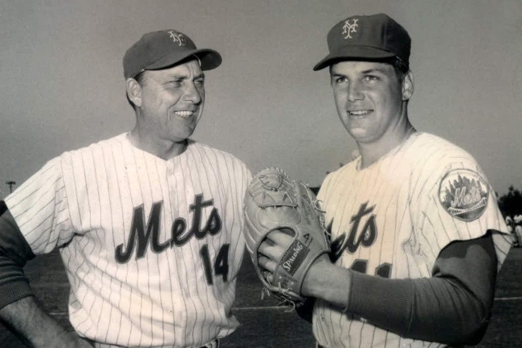 Gil Hodges and Tom Seaver