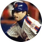 Wally Backman NY Mets