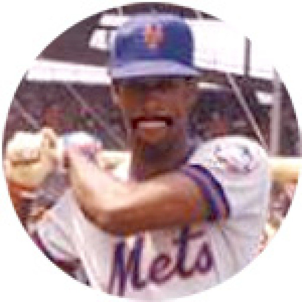 NY Mets Claudell Washington