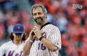 Judd Apatow 'First Pitch' Card In Topps 2017 Series 1