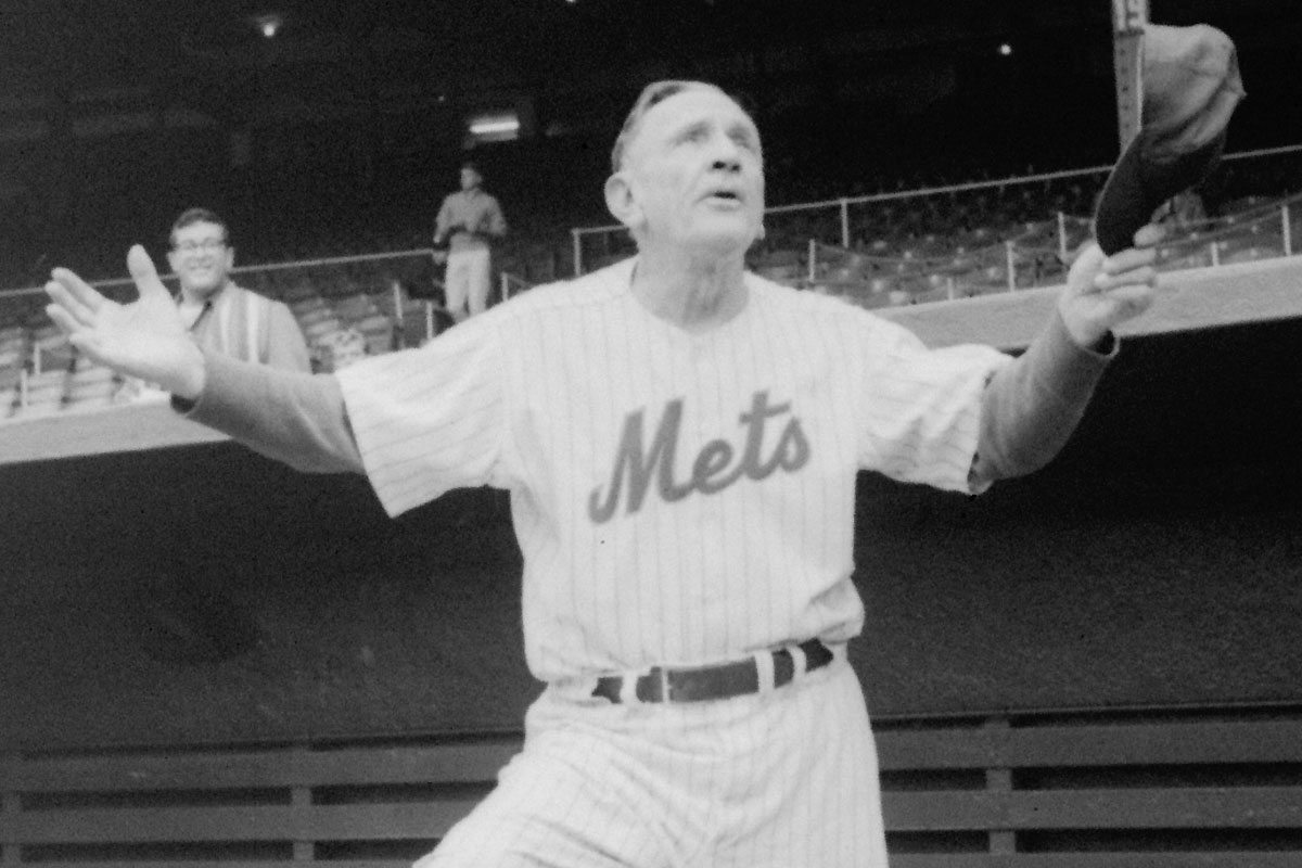 Stengel Biographer Says Casey Built Mets Fan Base, Was 'Mets Fan 'Til The End'